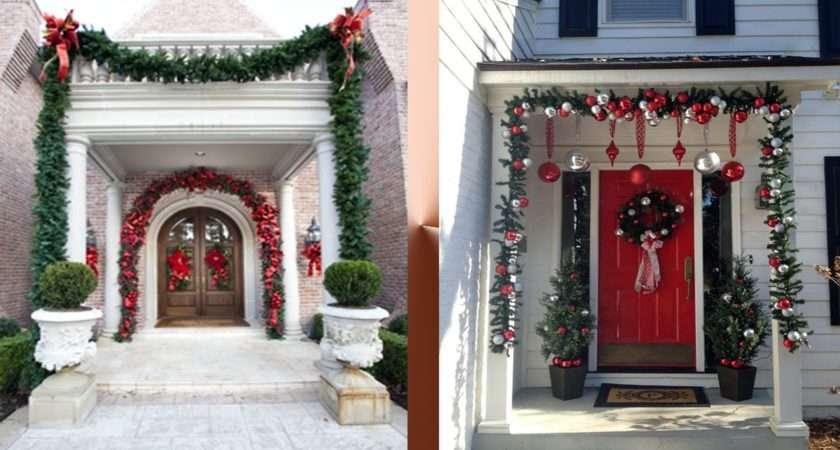 Beautiful Entrance Decoration Ideas Christmas Youtube