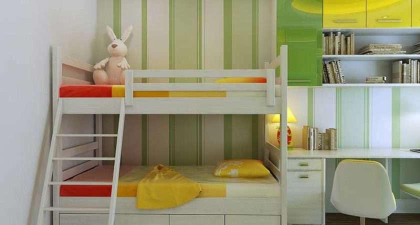 Beautiful Green Yellow Bedroom Interior Design