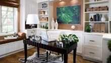 Beautiful Home Office Designs Feminine Allure