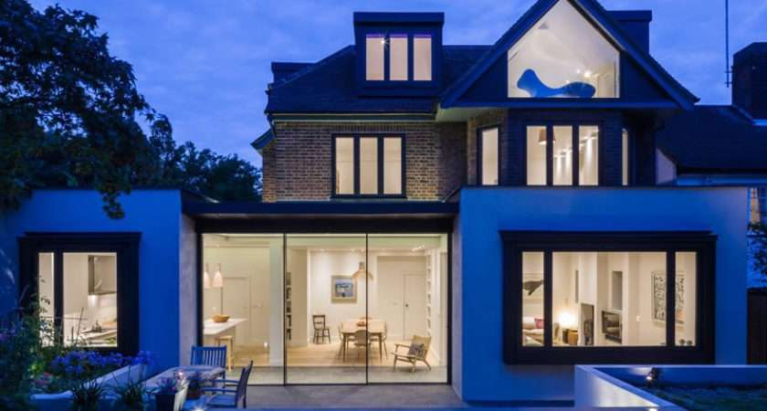 Beautiful Houses Extension House North London