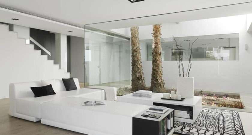 Beautiful Houses Pure White Interior Design