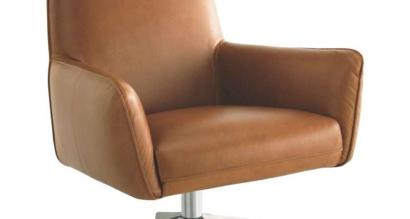 Beautiful Leather Swivel Armchairs Merciarescue