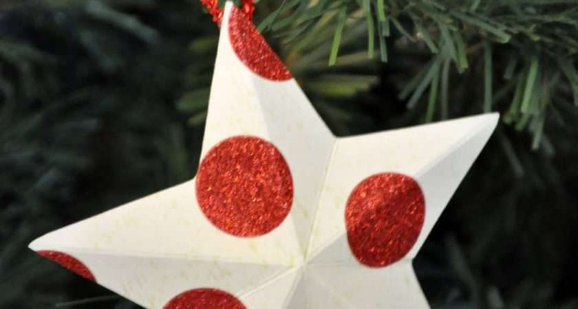 Beautiful Paper Christmas Decorations Ideas
