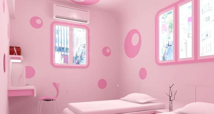 Beautiful Pink Bedroom