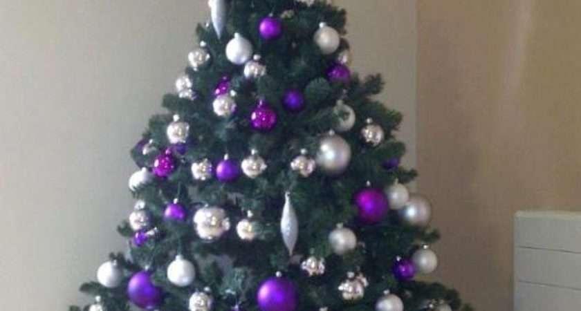 Beautiful Purple Christmas Tree Decorations Ideas Magment