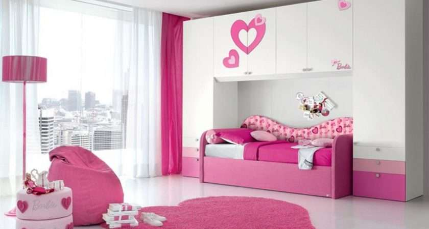 Beautiful Small Teen Girl Bedroom Storage Single