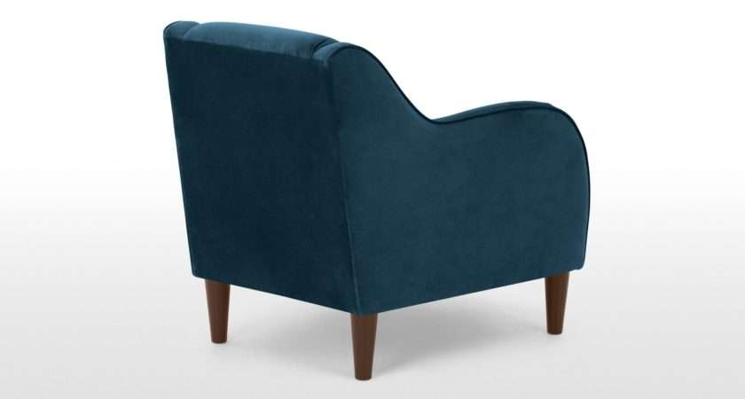 Beautiful Teal Velvet Armchair Merciarescue
