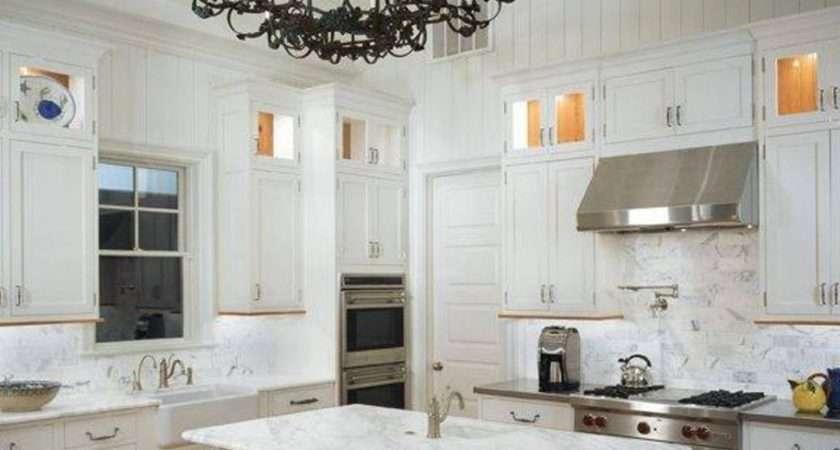 Beautiful Vaulted Kitchen Ceiling Lighting Design
