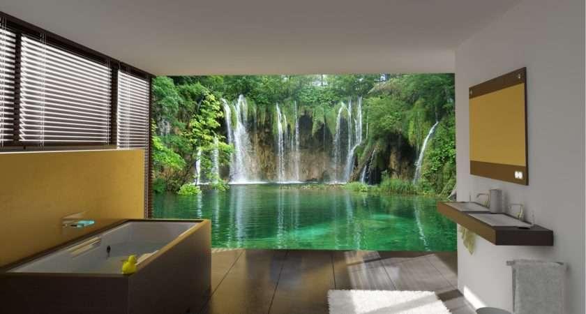 Beautiful Wall Murals Design Your Dream Bathroom