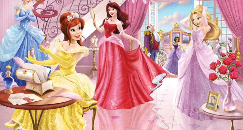 Beauty Disney Princess Kids Room Lovekidszone