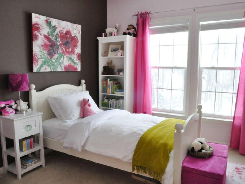 Bed Bedroom Decor Teenage Girl