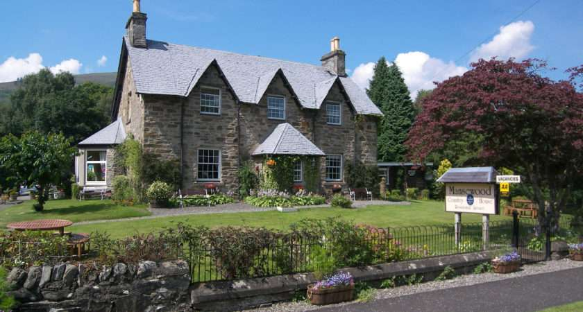 Bed Breakfast Perthshire Scotland Mansewood Country