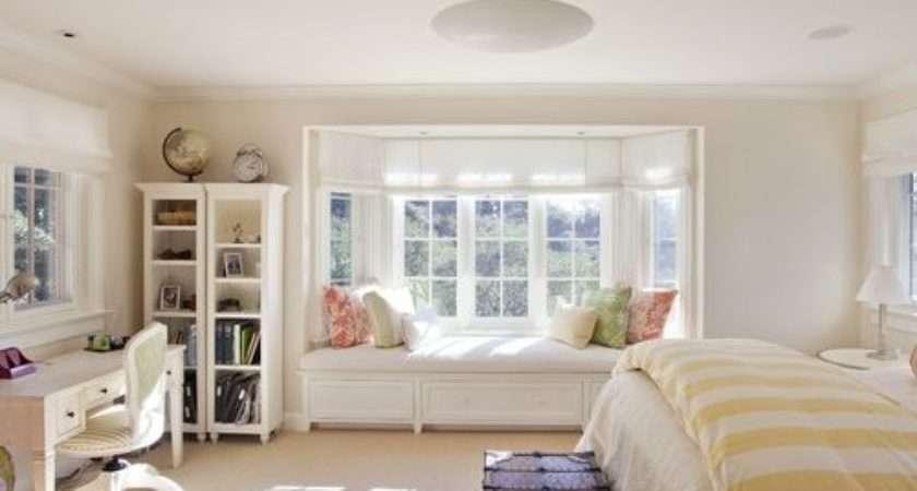 Bedroom Bay Window Home Design Ideas Remodel