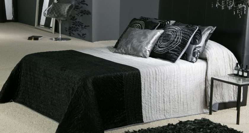 Bedroom Black Silver Ideas Designs