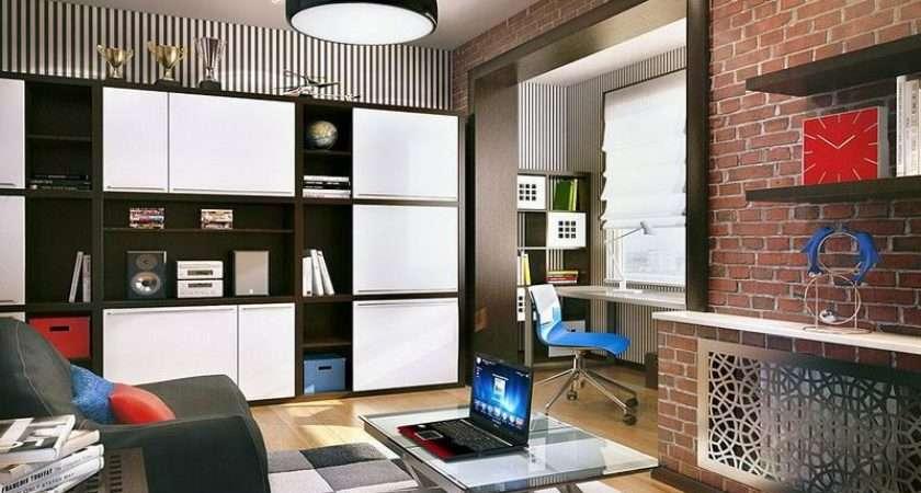 Bedroom Cool Room Ideas Teenage Guys Brown