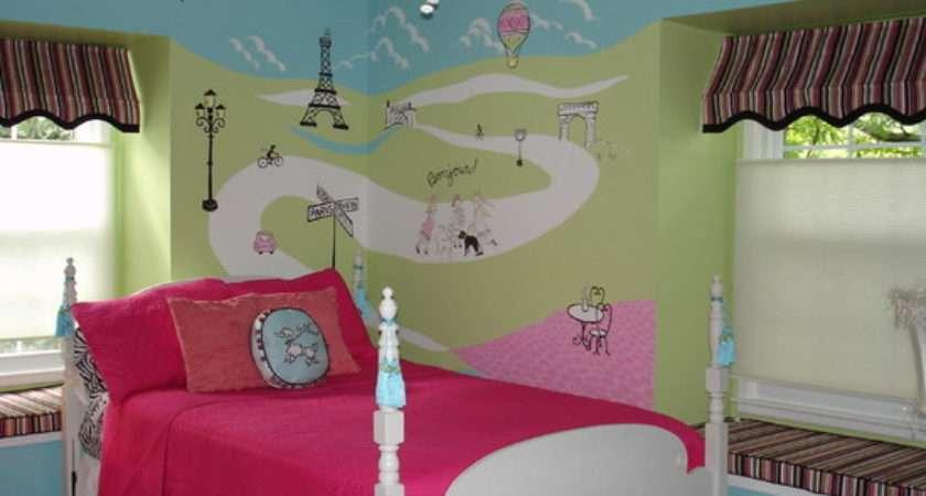 Bedroom Decorate College Ideas Girls Paris