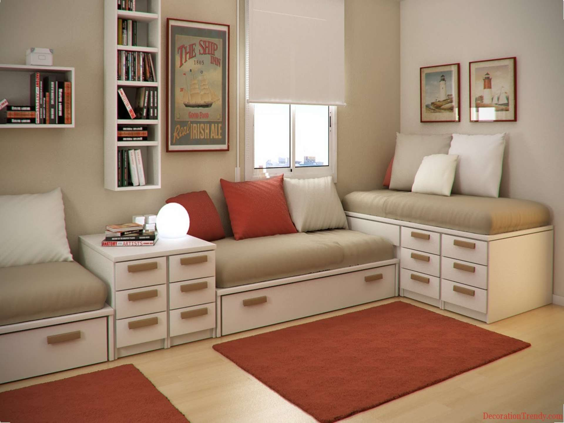 Bedroom Decorating Ideas Decoration Trendy Design Glubdubs