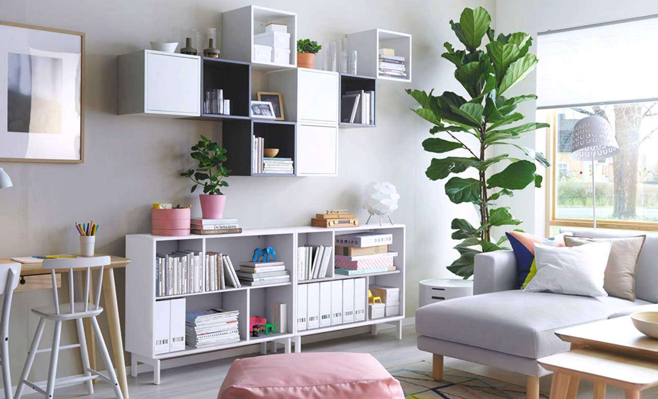 Bedroom Decorating Ideas Shelving
