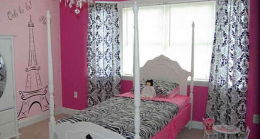 Bedroom Decorative Paris Ideas Hot