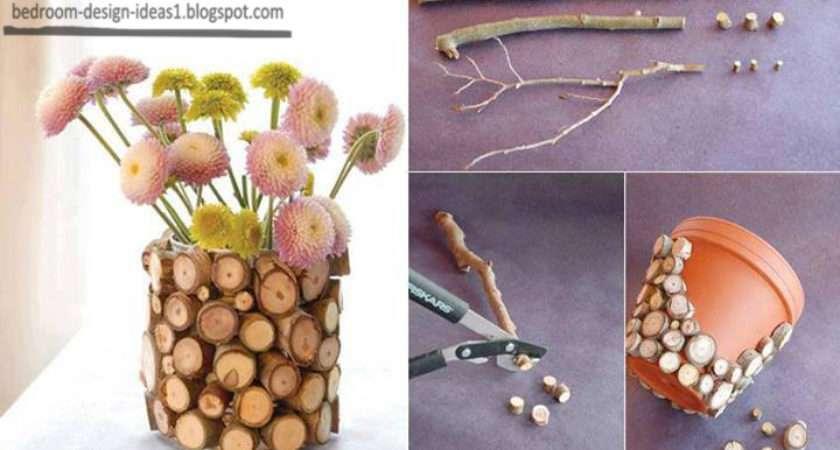 Bedroom Design Ideas Make Flower Vase Tree Branches