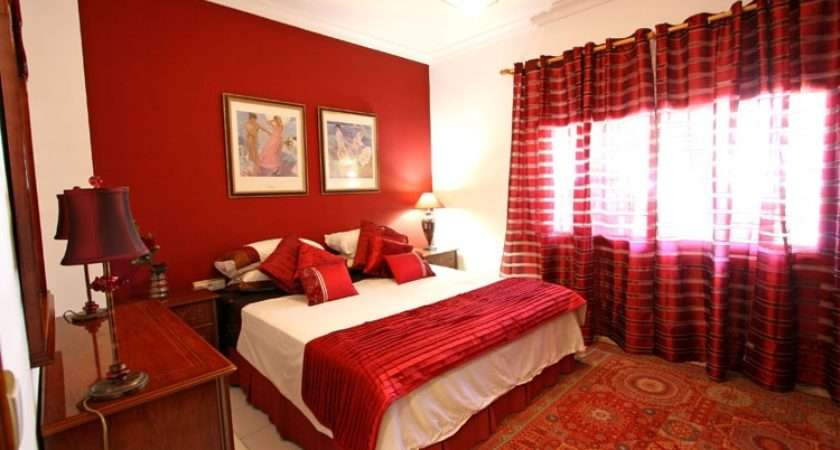 Bedroom Design Ideas Trendy Plan Romantic Red