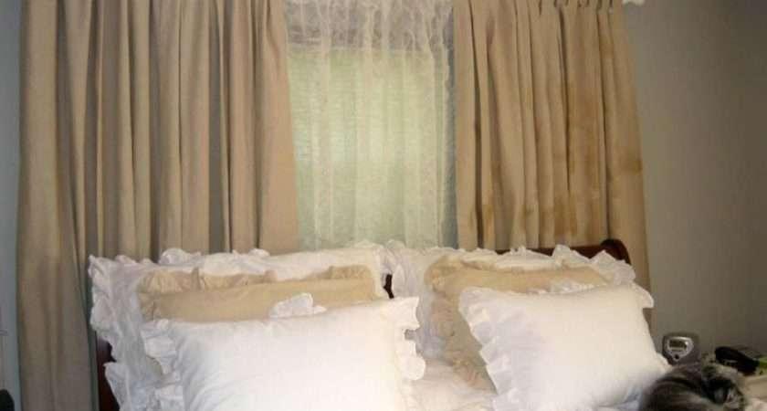 Bedroom Drapes Curtains Plus White Bed Idea Mesmerizing