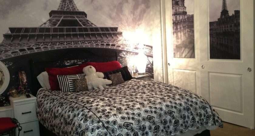 Bedroom Extraordinary Wall Decal Inside Eiffel Tower Decor