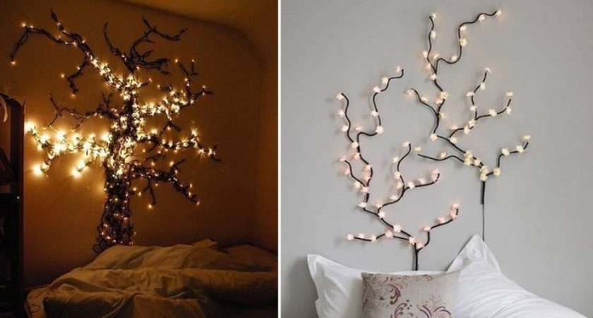Bedroom Fairy Lights Idea New Room Pinterest