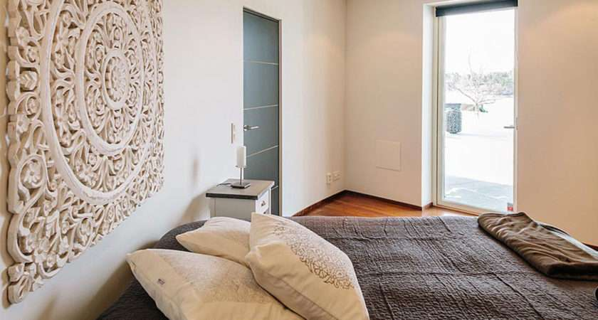 Bedroom Feature Wall Home Ideas