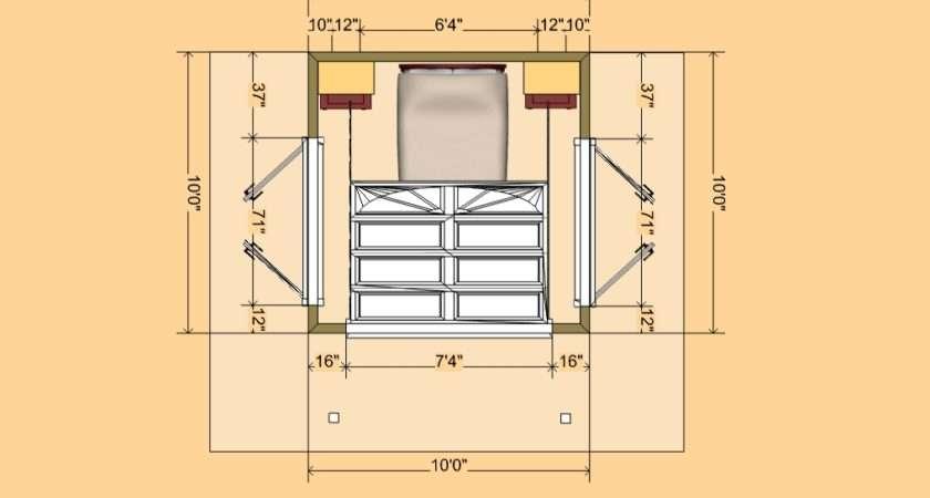 Bedroom House Floor Plans Designs