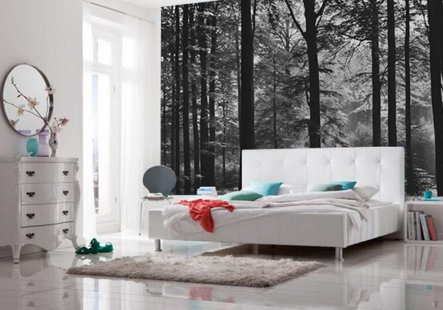 Bedroom Ideas Murals Black