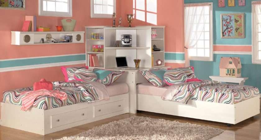Bedroom Ideas Teenage Girls Sharing Room Interior Designs