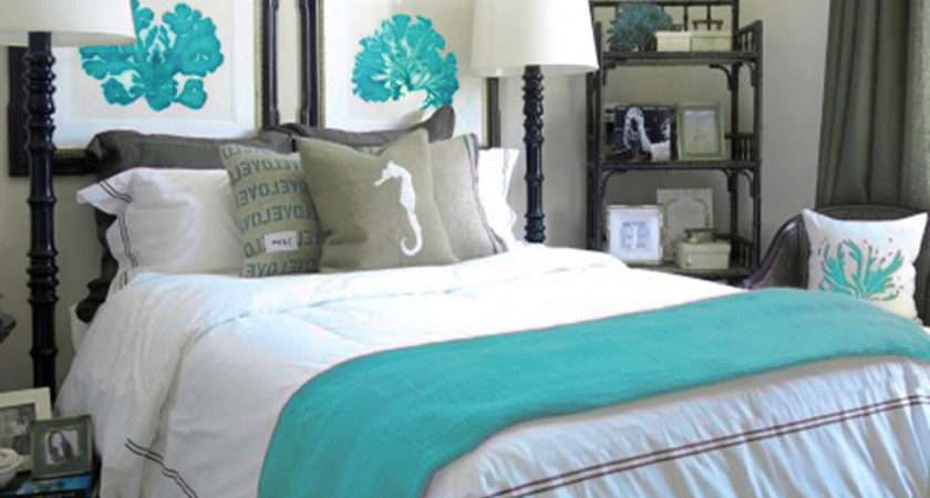Bedroom Ideas Turquoise Paint Decorating