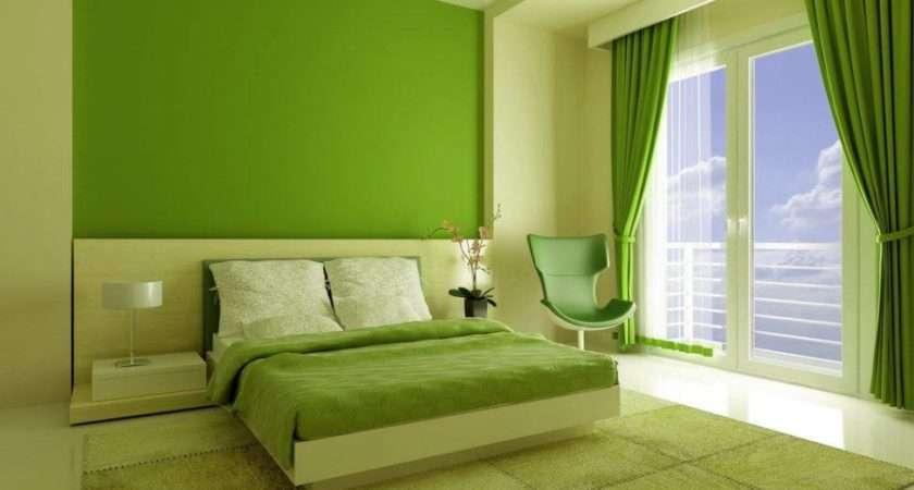Bedroom Interior Design Green