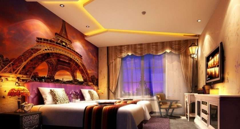 Bedroom Layout Design Ideas Wonderful Eiffel Tower