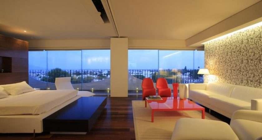 Bedroom Lounge Area Design Interior Ideas