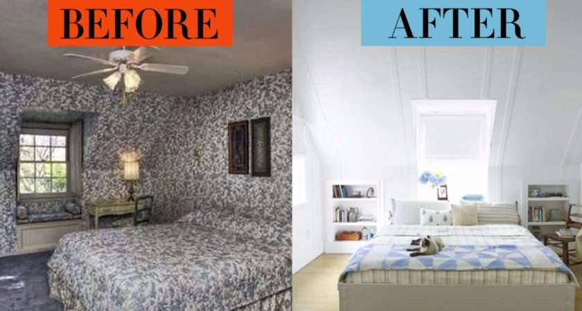 Bedroom Makeovers Before Afters