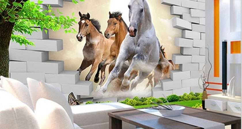 Bedroom Mural Roll Modern Luxury Horse