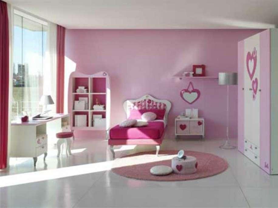Bedroom Pink Small Decorating Ideas Girl Walt Disney