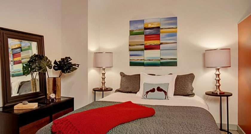 Bedroom Red Ideas Together Gold