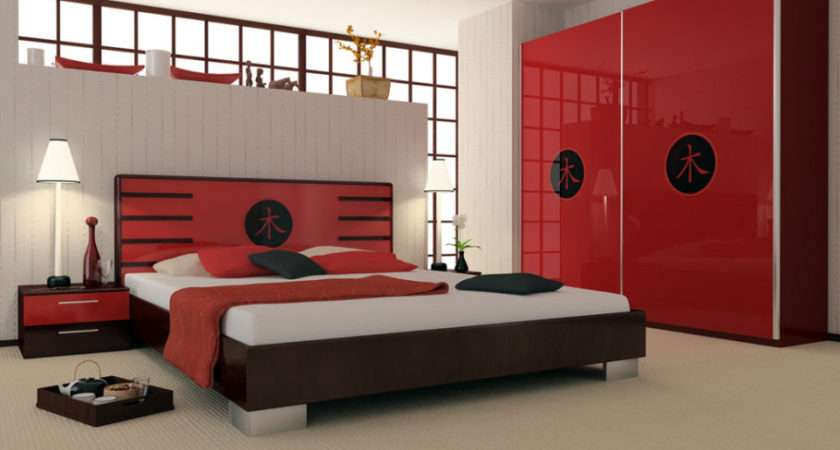 Bedroom Restful Asian Decor Busy Person