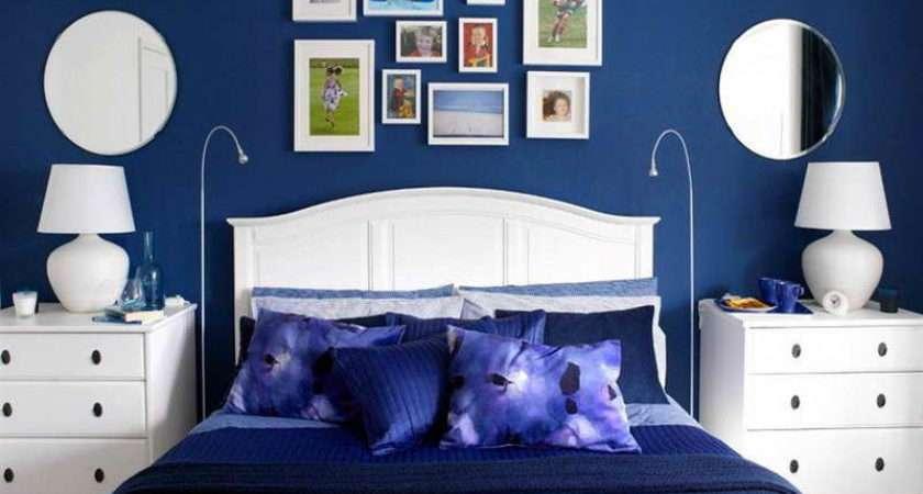 Bedroom Special Design Dark Blue Ideas