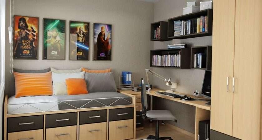Bedroom Storage Ideas Cool Small Teens Bedrooms Bunk Bed Mirror