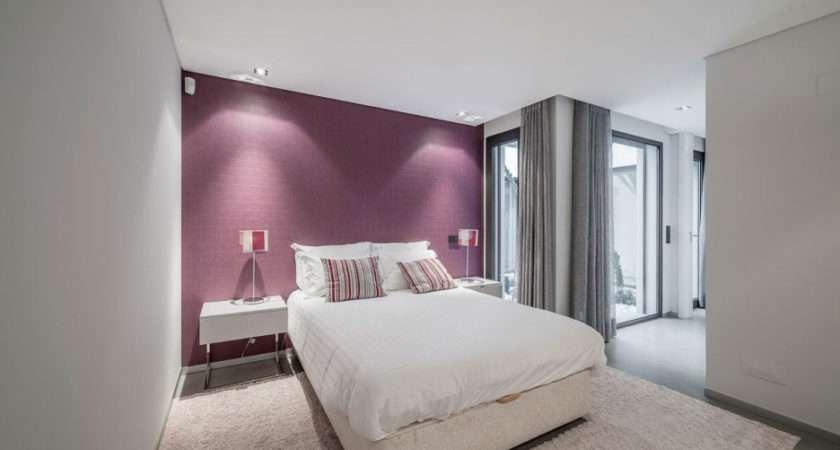Bedroom Sweet Modern Grey Purple Cream