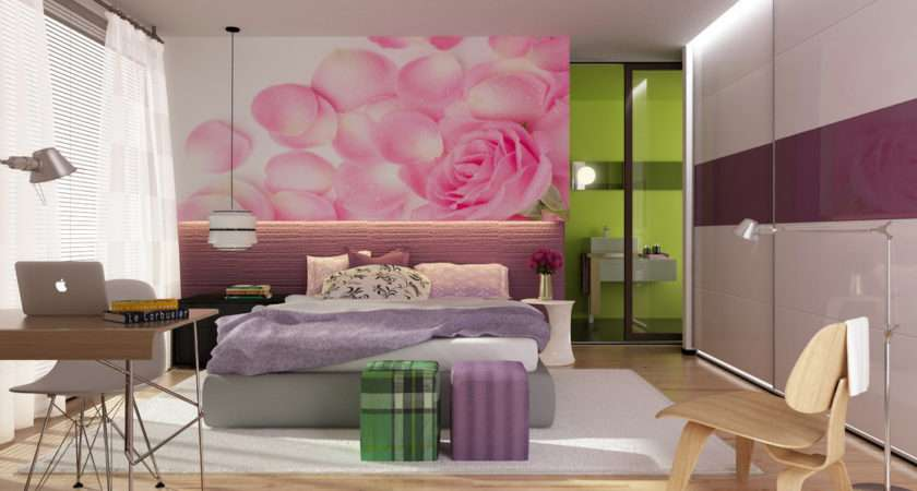 Bedroom Tumblr Modern Colorful Bedrooms Girly