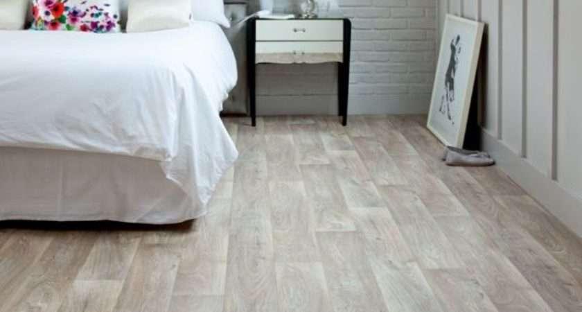 Bedroom Vinyl Flooring White Bedding Cleaning