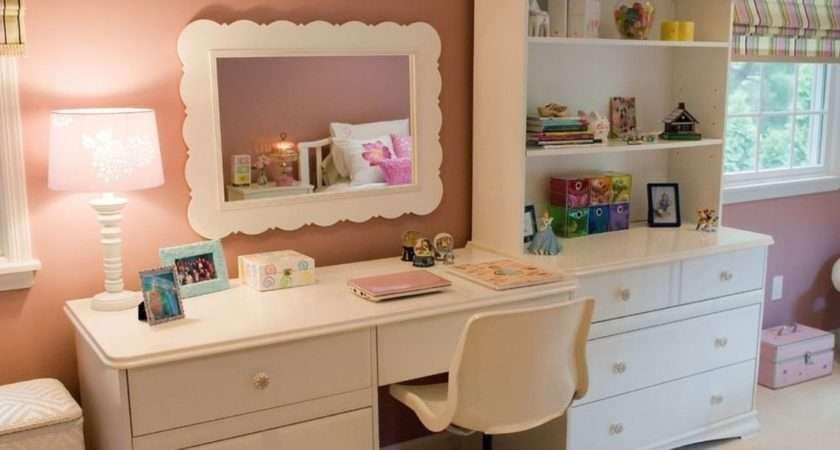 Bedroom Wall Cabinet Little Girl Desk