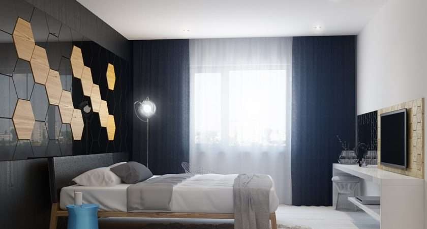 Bedroom Wall Design Interior Ideas