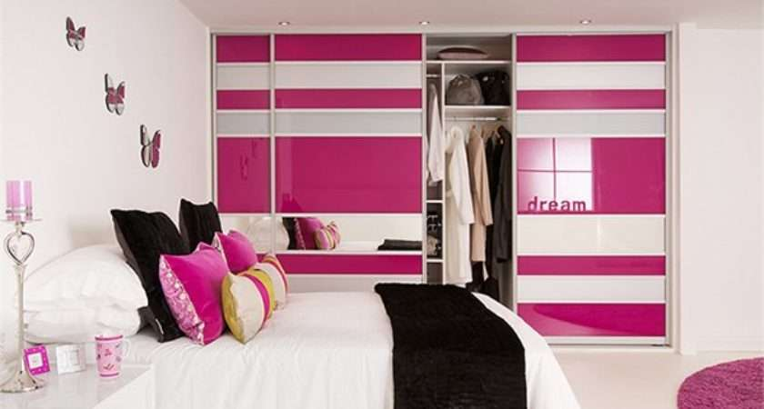 Bedroom Wardrobe Cabinets Different Colors Home