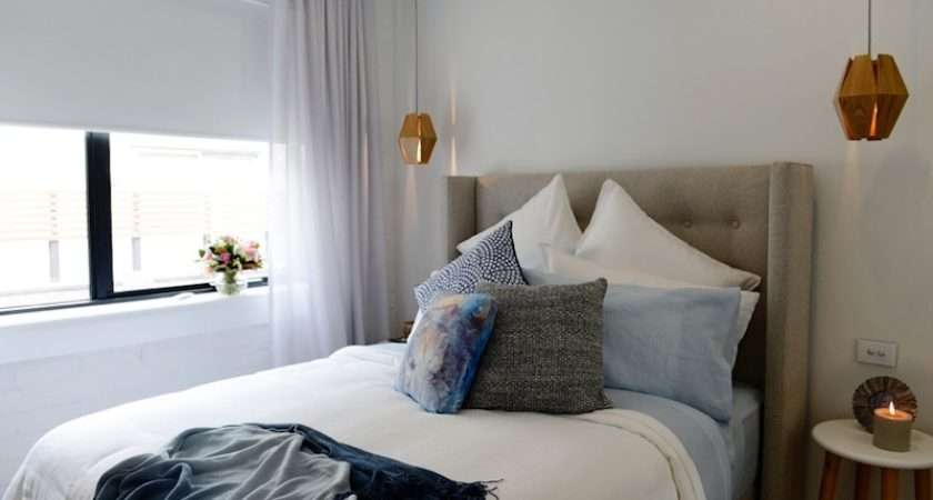 Bedroomfeaturing Ripplefold Curtains Warwick Chios Mist Sheer